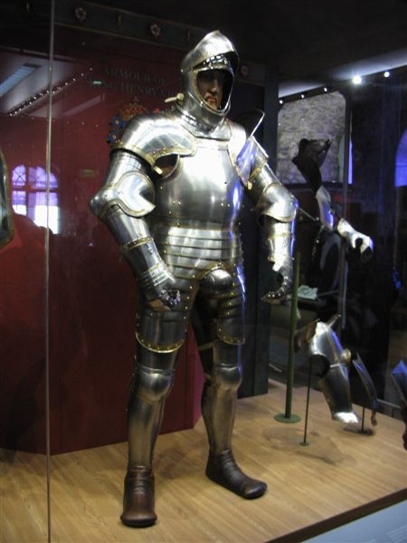 Henry VIII's suit of armour